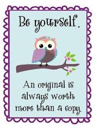 Because stress has weakened our ability to know who we are at a deep  level knowing this and accepting  yourself is one major step forward. Have a cute bird weekend